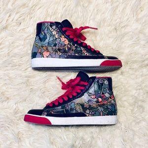 Nike Floral Blazer SB High Top Sneakers